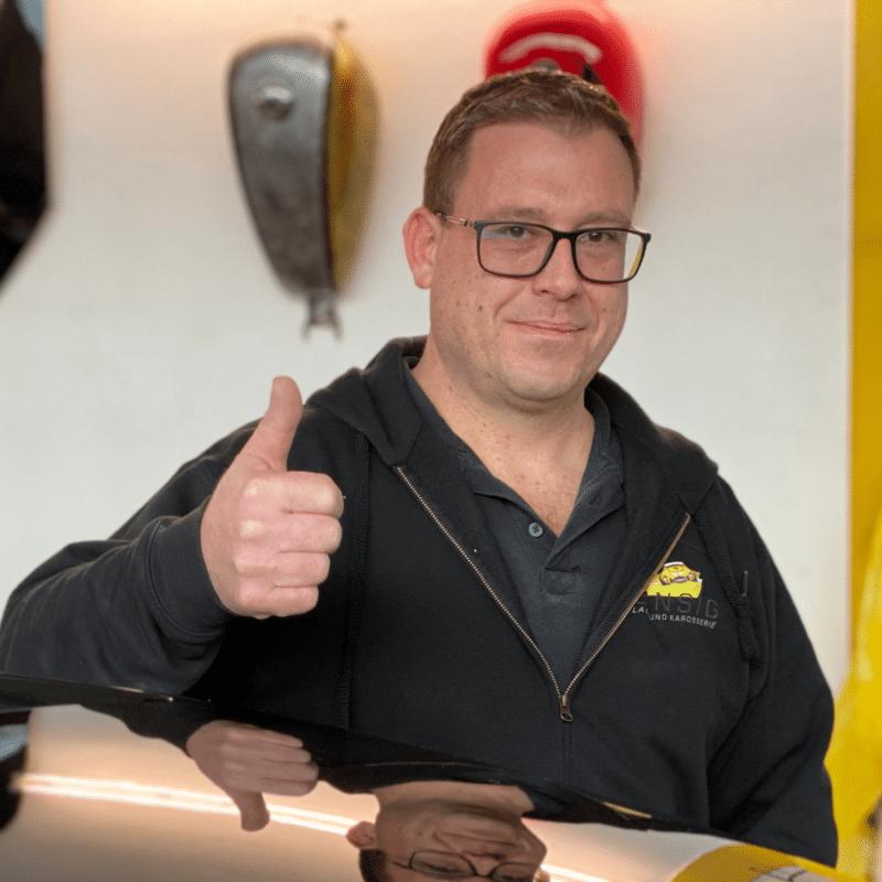 Werkstattmeister Markus Bärtges